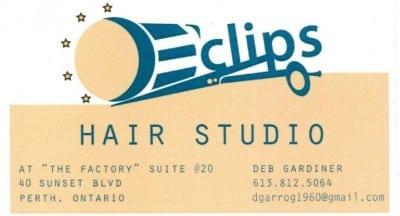 E'Clips Hair Studio Logo