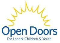 OPEN DOORS - For Lanark Children and Youth Logo